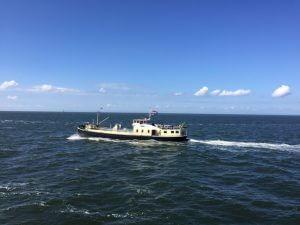 Assam II op de Waddenzee
